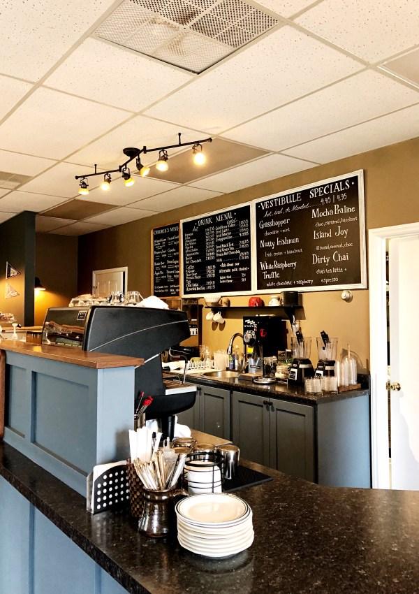 The Vestibule Coffee & Tea   Clinton