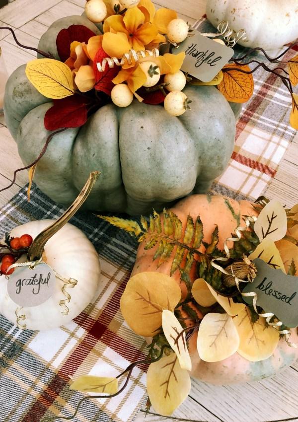 Floral Pumpkins   DIY