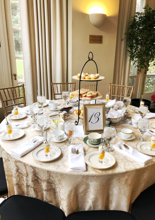Afternoon Tea & Cheer at the Duke Mansion