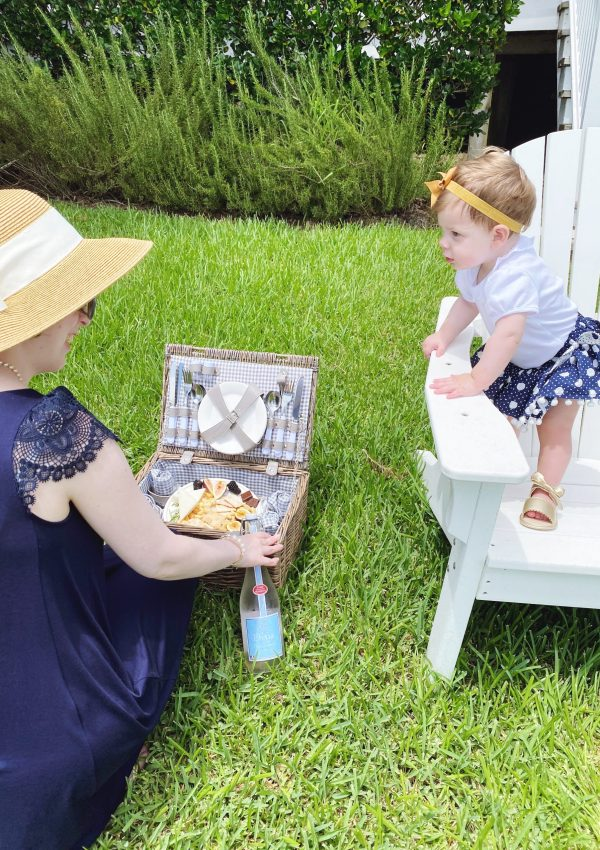 A Picnic with Baby