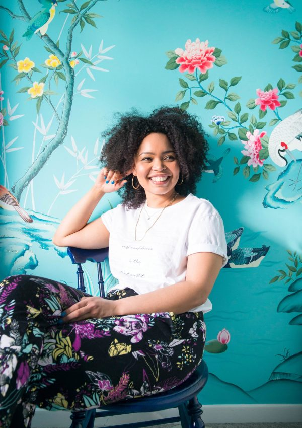 An Inside Look at the Watercolor & Silk Chinoiserie World of Artist Diane Hill