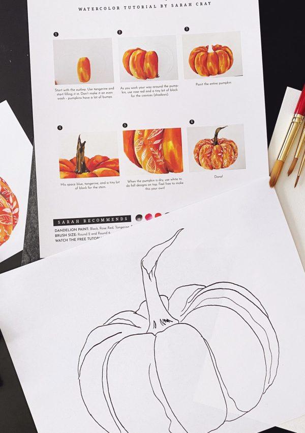 A Gourd-geous Pumpkin Project