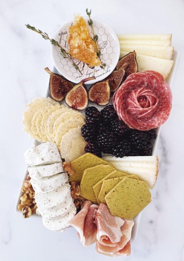Taste of Spring Charcuterie Board