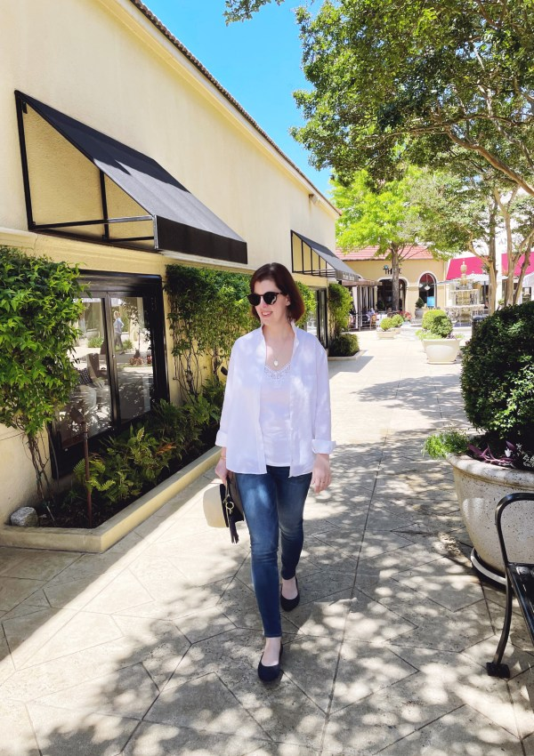A Casual Chic Look that's on Pointe