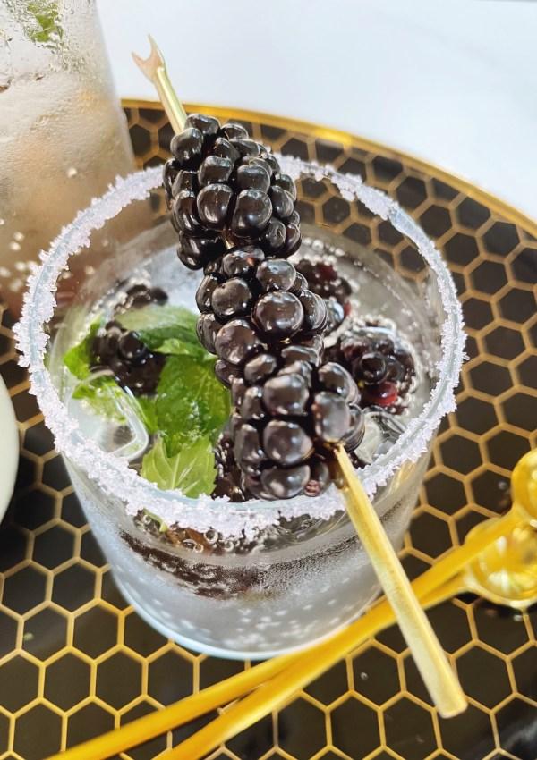 3 Delicious Ways to Enjoy Blackberries & San Pellegrino