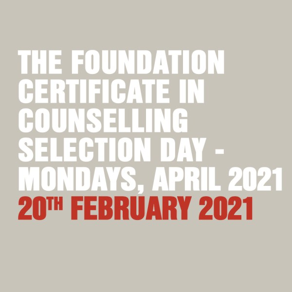 Foundation Certificate 20th February 2021