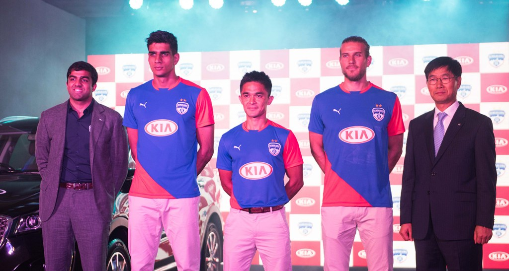 bengaluru fc and kia image