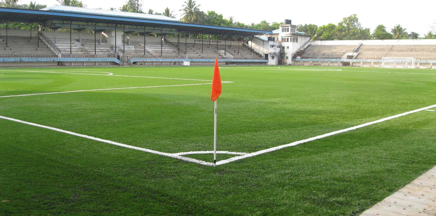 The Duler Stadium will host the majority of the matches in the Goa Pro League. Photo Courtesy: acosasportsinfra.com