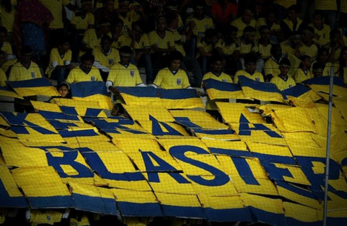 kerala blasters fan banner