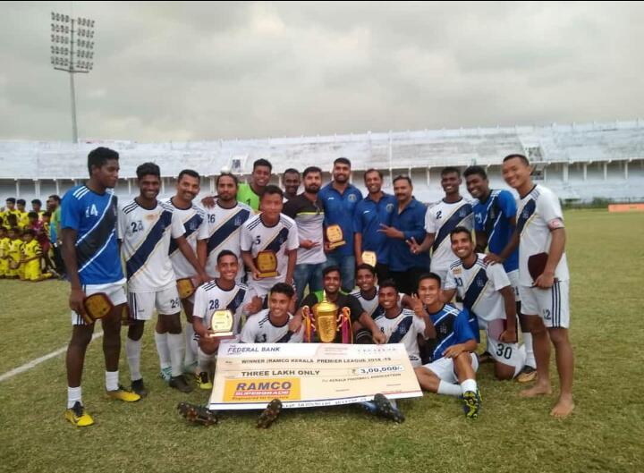 The Kerala Premier League 2018-19 CHAMPIONS Indian Navy