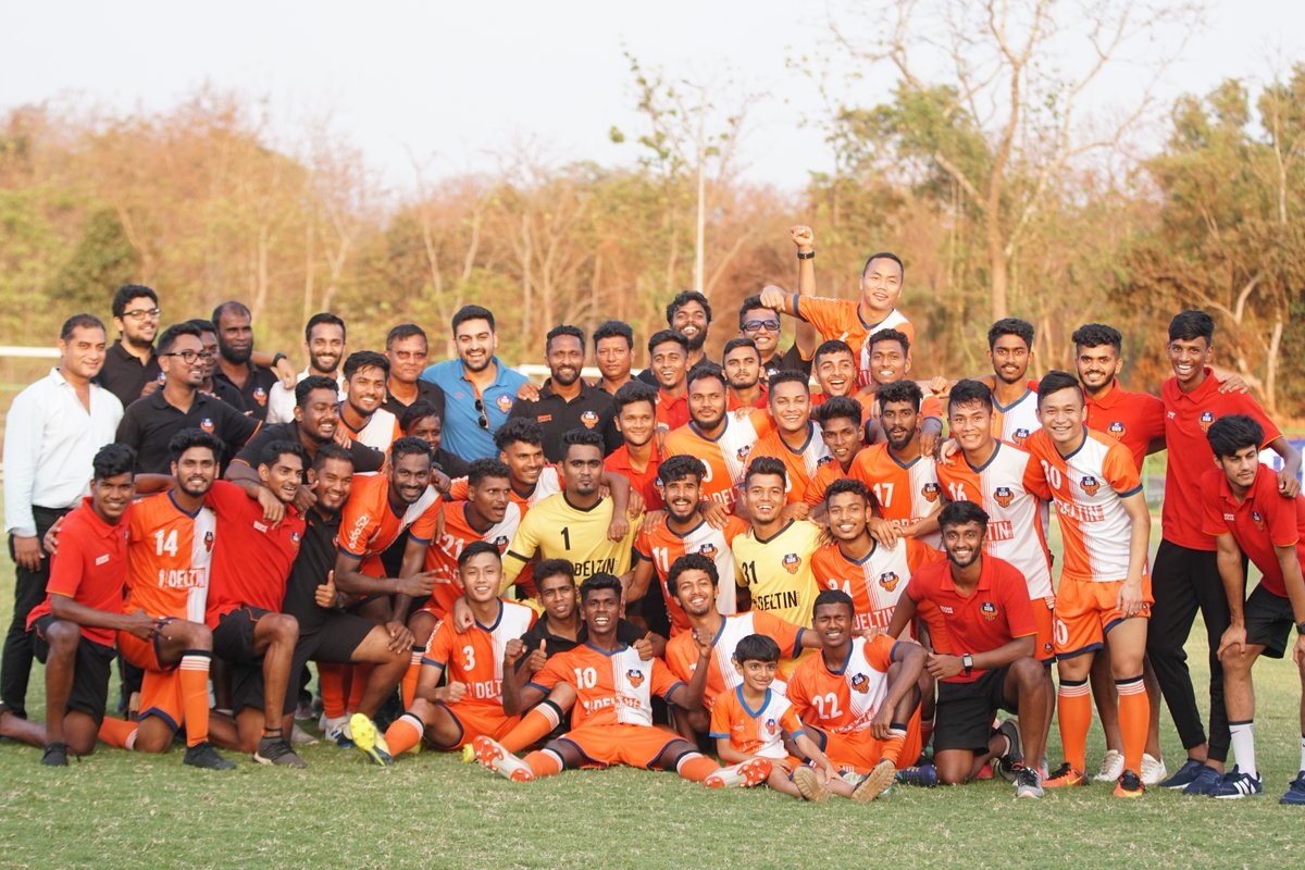 Goan FC (fFC Goa DEV) are the champions of the Goa Pro League 2018-19.