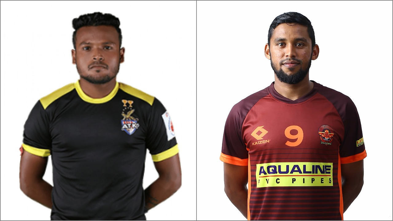 Debjit Majumder and VP Suhair sign for Mohun Bagan