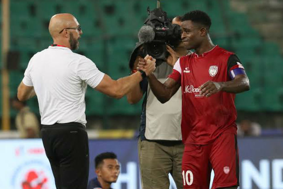 Bartholomew Ogbeche reunited with coach Eelco Schattorie at Kerala Blasters FC