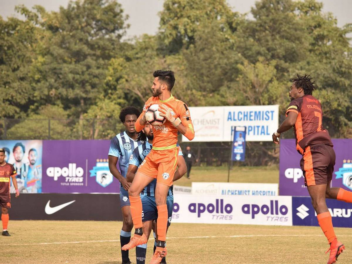 Minerva Punjab FC goalkeeper Arshdeep Singh moves to Delhi Dynamos FC on a free transfer