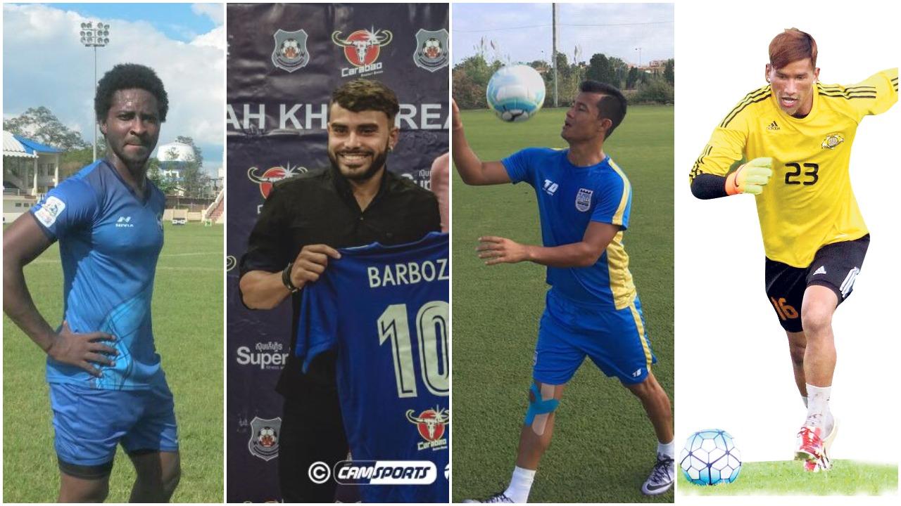 Minerva Punjab FC Transfer Updates: Brazilian winger  Sergio Barboza Jr., Nigerian striker Orok Orok Essien, Sikkimese winger Sanju Pradhan and Nepalese goalkeeper Kiran Chemjong join the club