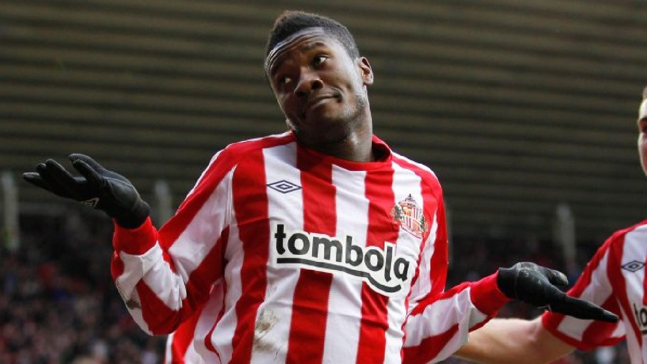 Former Sunderland striker Asamoah Gyan joins Northeast United FC