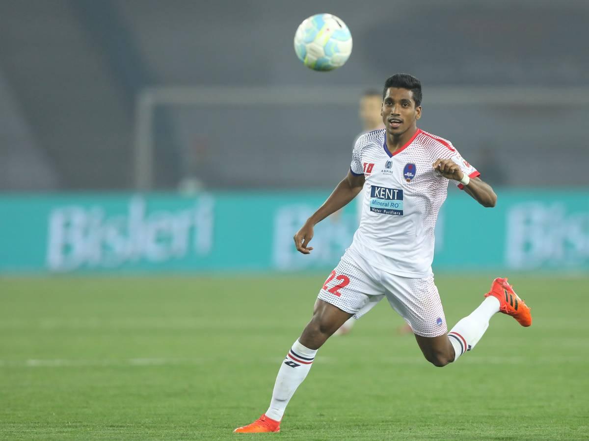 Delhi Dynamos midfielder Nandha Kumar
