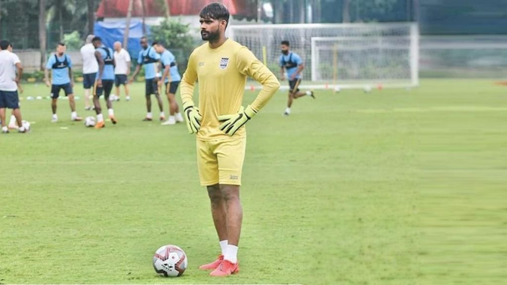 Goalkeeper Ravi Kumar signs for Odisha FC