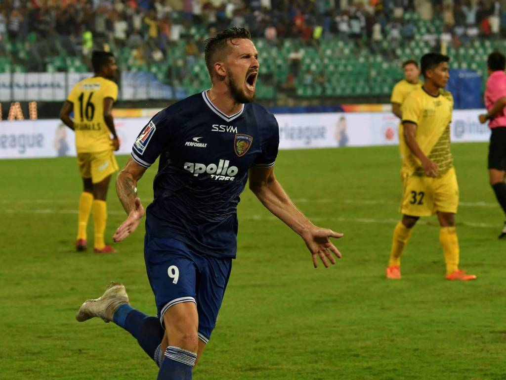 Chennaiyin FC forward Nerijus Valskis moves to Jamshedpur FC