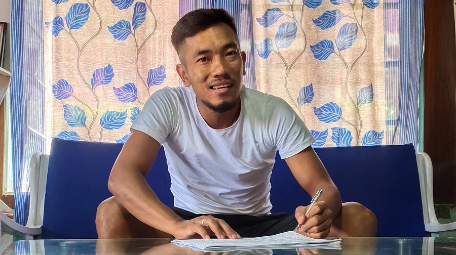 Fullback Ricky Lallawmawma signs a two-year-deal with Jamshedpur FC