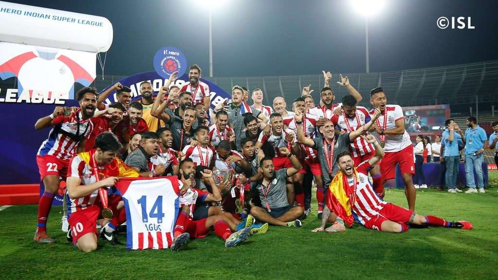 ATK are the 2019-20 ISL Champions