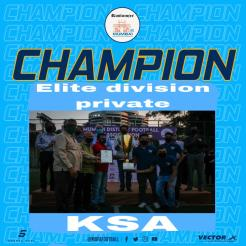 MDFA Elite Division Private Karnatak Sports Association