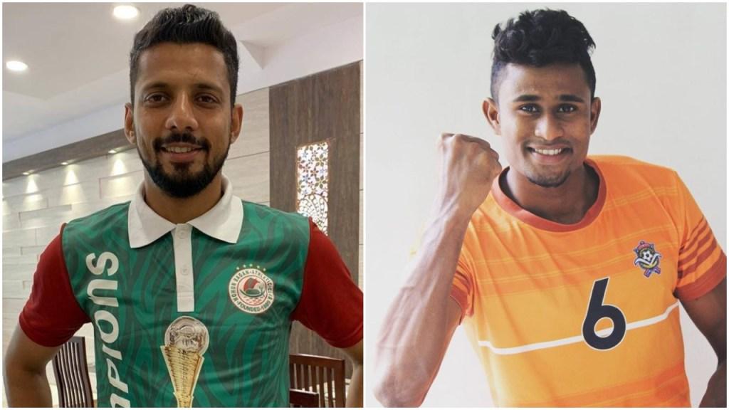 Former Mohun Bagan fullback Gurjinder Kumar and Ex-Chennai City FC midfielder Mashoor Shereef join Northeast United FC