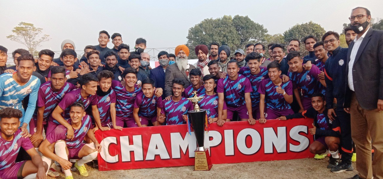 Himachal FC Champions of Himachal Football League 2020