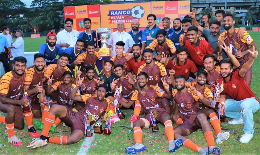 Kerala Premier League 2020-21 Champions Gokulam Kerala FC