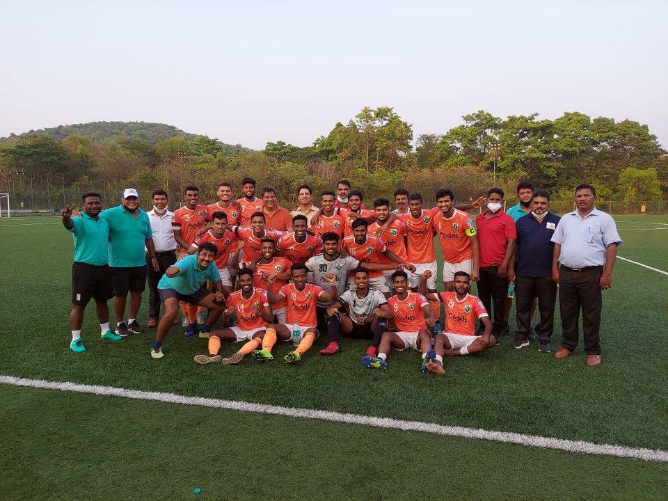 Goa Pro League Champions 2020-21 Sporting Clube de Goa