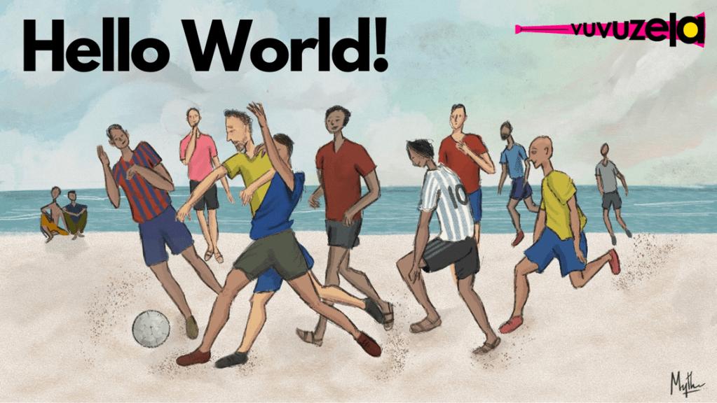 Vuvuzela: Edition 1, May 14, 2021 - Hello World! Explaining Kalpanthu's Newsletter Vuvuzela