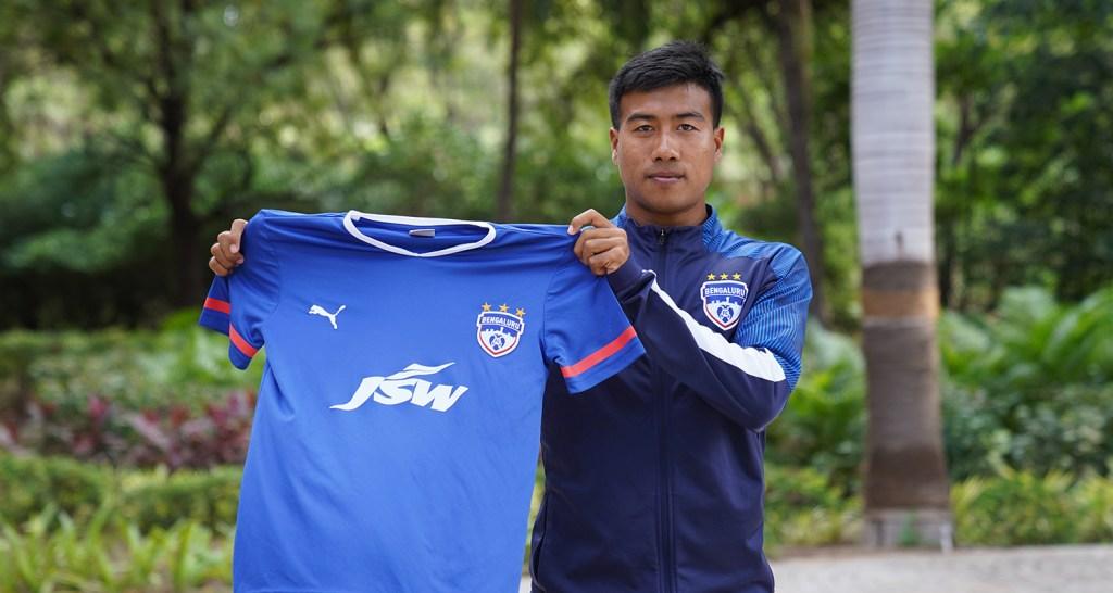 2020-21 I-League top scorer Bidyashagar Singh joins Bengaluru FC