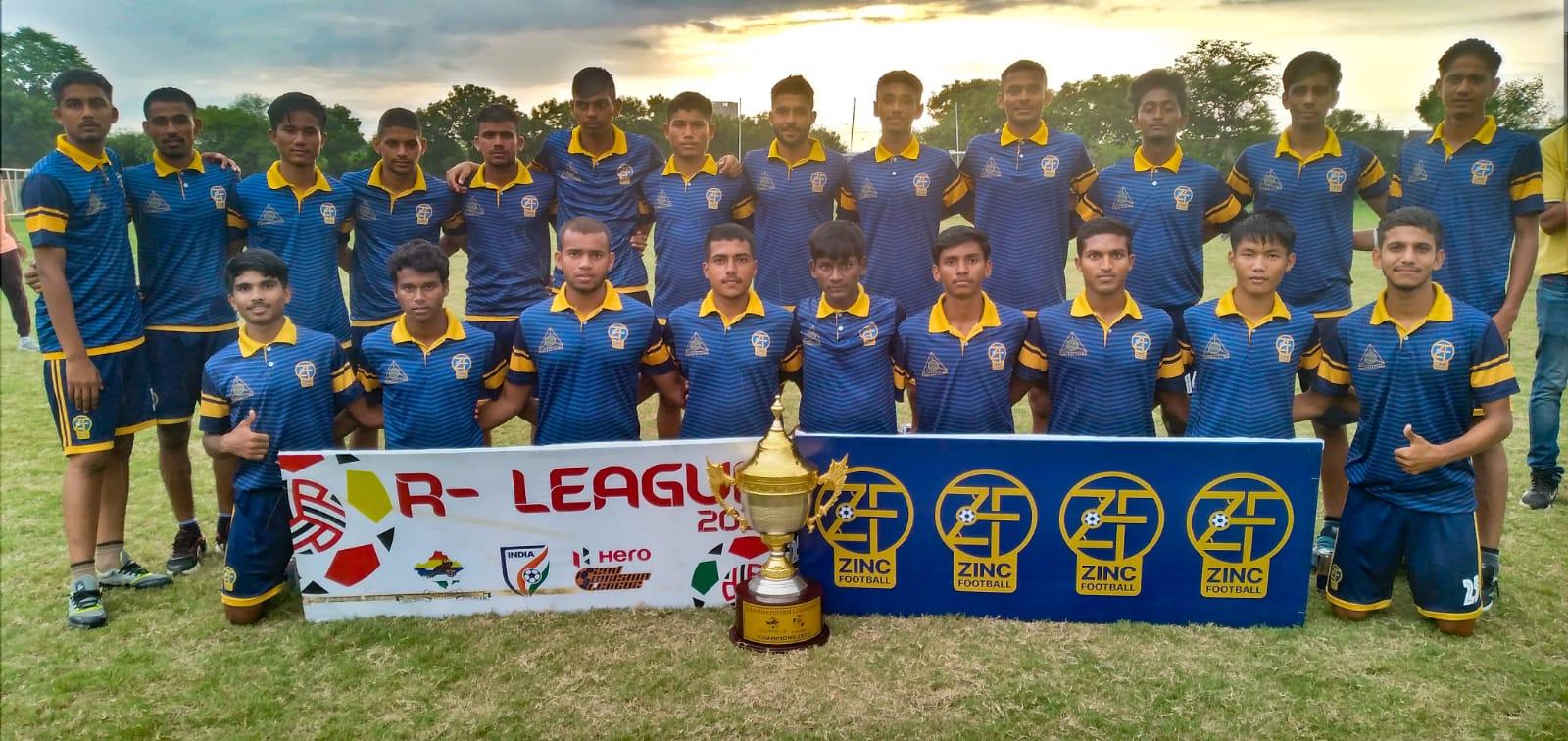 Zinc FA Rajasthan League 2021 Champions