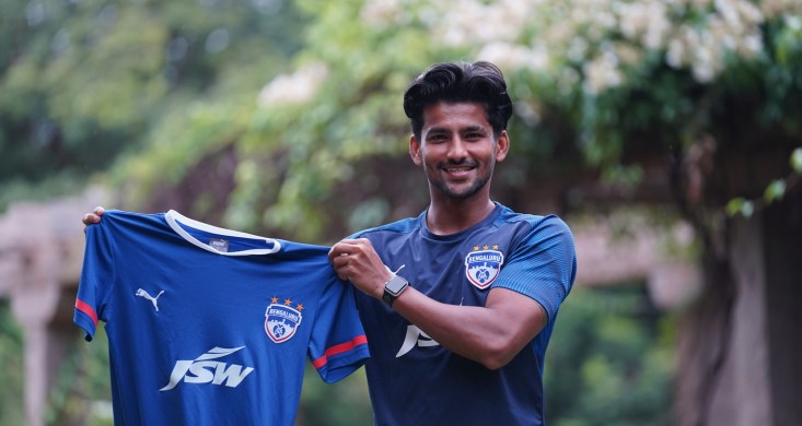 Midfielder Jayesh Rane joins Bengaluru FC on a three-year deal