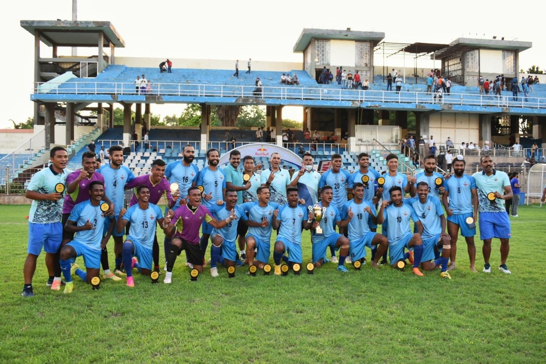 Football Delhi 2nd Division League Qualifiers 2021 Winners Indian Air Force IAF