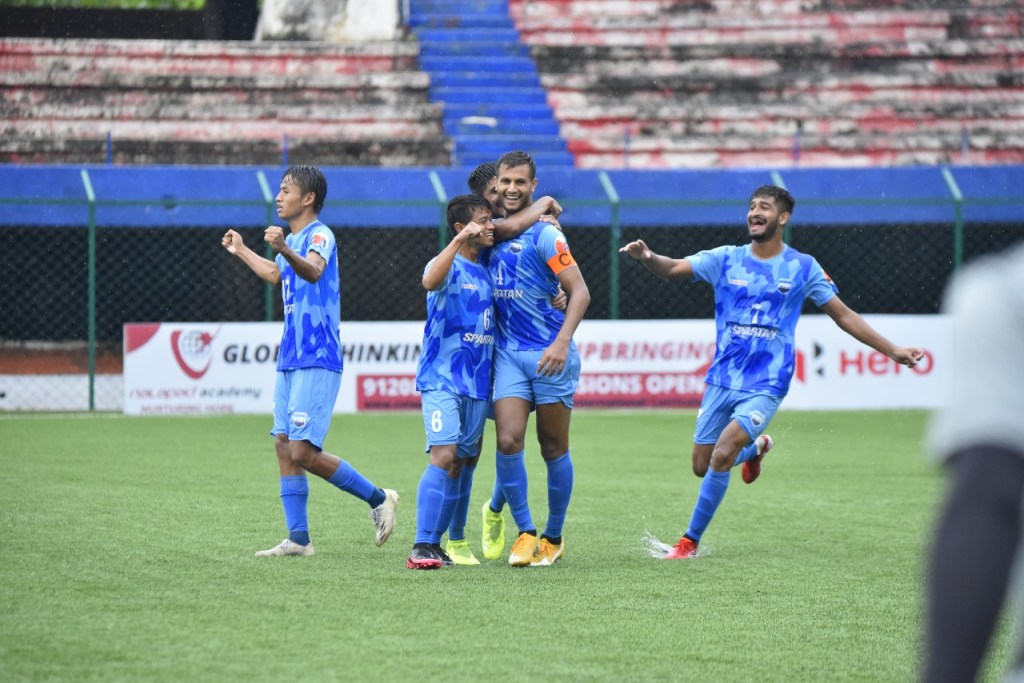 I-League Qualifiers 2021 Corbett FC vs Delhi FC