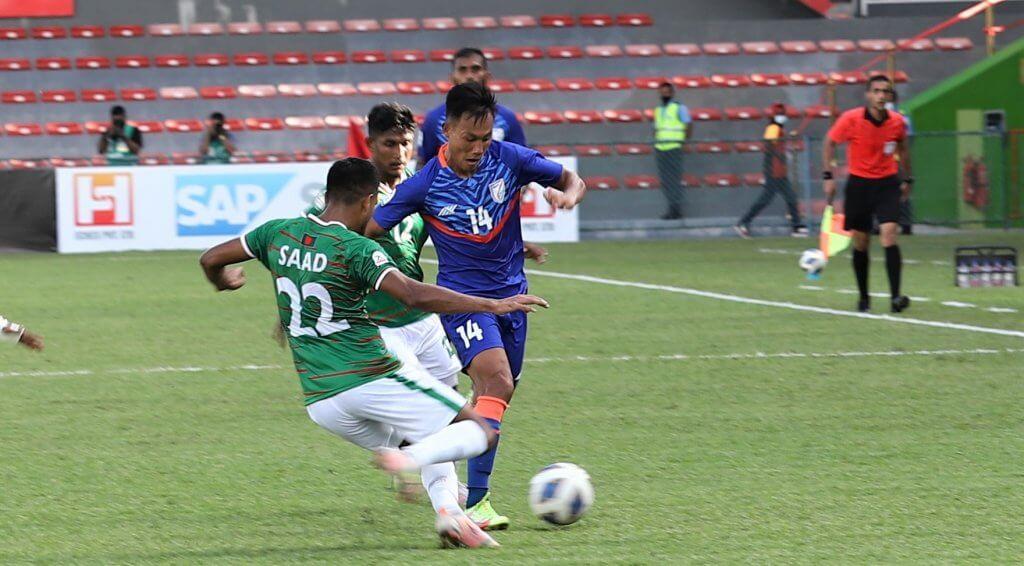 SAFF Championship 2021: Bangladesh vs India ends in a 1-1 draw