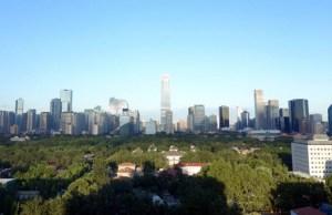 blue skies in Beijing 3