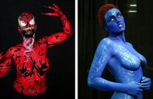 amazing body painting 1