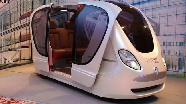 Futuristic Driverless Pods Will Run On Singapore's Roads 4