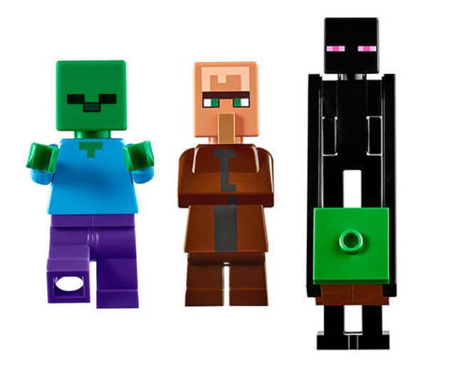 LEGO Is Creating A 1600 Piece Minecraft Village Set You