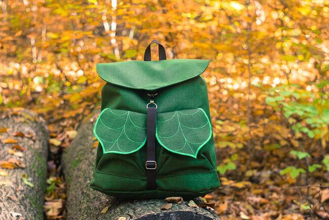 leaf inspired bags 2