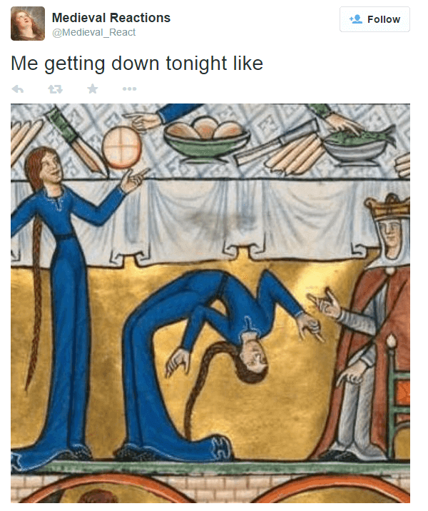 40 Funny Medieval Art Reactions That Are So Real You See