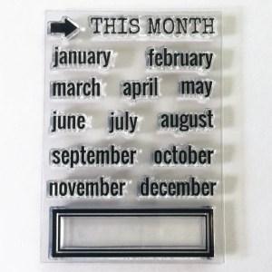 Months Stamp