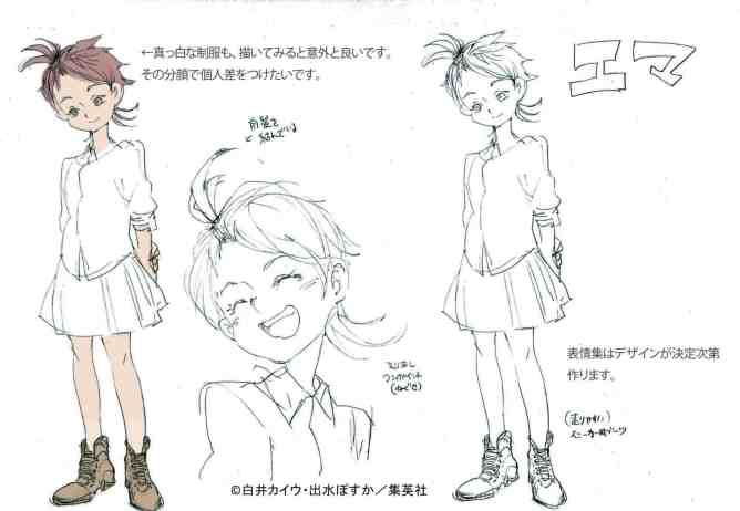 The Promised Neverland Sketches