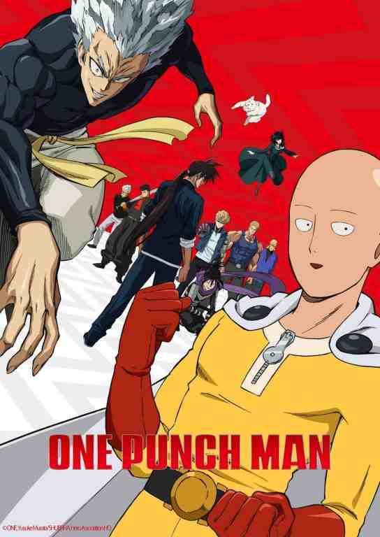 One Punch Man Season 2 Visual