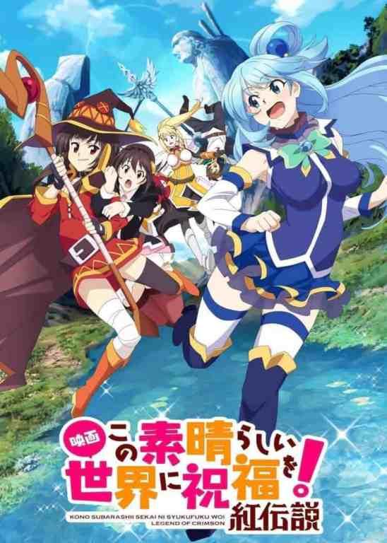 Konosuba Season 3 Visual