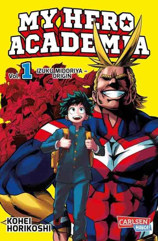 My Hero Academia manga First volume