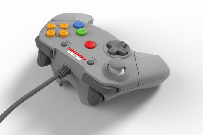 This Modern Take On The Nintendo 64 Controller Ditches The