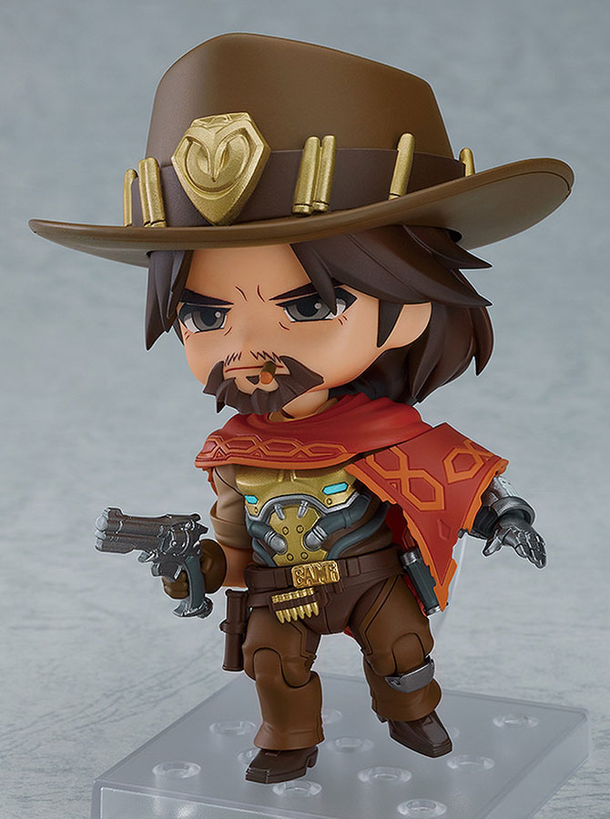 Nendoroid McCree Is Here To Defend Your Action Figures